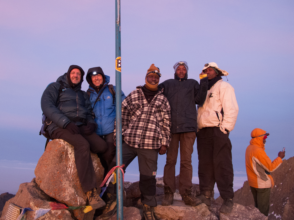 Summit of Point Lenana